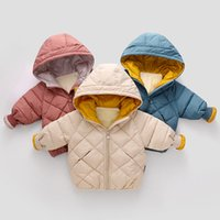 Wholesale outerwear infant for sale - Group buy Infant Jacket Autumn Winter Jackets For Girls Coat Kids Warm Hooded Outerwear For Boys Jackets Baby Coat Children Clothing