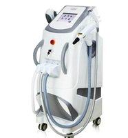 ingrosso nuove macchine laser ipl-2019 Nuovo 360 Magneto-ottico professionale OPT SHR E-light IPL RF Nd Yag Laser Salone di depilazione Uso multifunzione