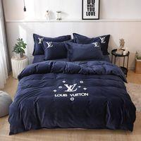 Wholesale western king size bedding resale online - Luxury Egyptian cotton bedding sets bed sheets taro purple queen duvet cover king size quilt doona bedsheet bedspread linen western