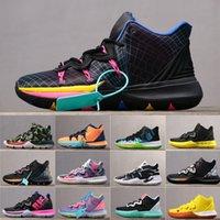 zapatillas altas para hombre. al por mayor-Zapatillas de baloncesto KI 5 para hombre para hombre Zoom Zapatillas deportivas de entrenamiento Tobillo alto 40-45