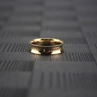 verlobungsring charme roségold großhandel-Womens Rose Gold Ringe Kleine Diamant Luxus Schmuck Mann Charms Gothic Hochzeit Engagement Schmuck