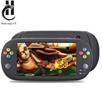 Wholesale video games 16 bit resale online - HaoLongGCP Handheld inch Retro Video Game Console for ps1 for neogeo bit games GB with free games support TV Out