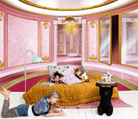 Wholesale princess mural stickers for sale - Group buy 3d wallpaper custom photo mural wall sticker livingroom princess room wall fairy tale bedroom painting picture d wall room murals wallpaper