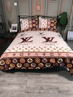 Wholesale king bedding sets comforters resale online - Home textile explosive bedding thickening sanding quality tribute cotton designer bedding sets Quilt cover pieces suit queen Bed Comforter