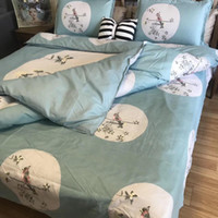 Wholesale silver queen bedding sets online - Gold silver coffee jacquard luxury bedding set queen king size stain bed set cotton silk lace duvet cover sets bedsheet home textile