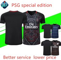 Wholesale sportswear jerseys for sale - Group buy psg Special Edition Football Jersey Commemorative Suit Paris mbappe CAVANI PSG Football Shirt Sportswear Soccer Suit Customiz