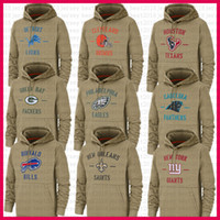 New Green Bays Hoodies Packer Cleveland Houston Brown Texan Lion Jacke Philadelphia Yorker Giant Eagle Bill Orleans Saints PantherJersey