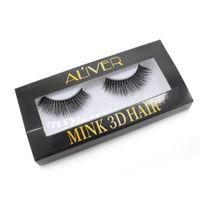 прореживание ресниц оптовых-5Pairs Women Beauty Waterproof False Lashes Eyelashes  Adhesive Eye Lash Glue Thin Firm for Home Use