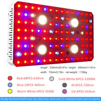 Wholesale dual light source for sale - Group buy New waterproof design w Corey COB full spectrum dual chip light source UV IR plant growth lamp indoor greenhouse for medicinal plants