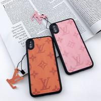 5c renk kutusu toptan satış-Lüks tasarımcı telefon kılıfları iphone 6 7 8 artı PU deri Moda Modelleri Telefon Arka Kapak için samsung galaxy S8 S9 NOTE9