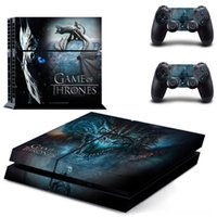 Wholesale accessories game thrones for sale - Group buy Film Game of Thrones PS4 Skin Sticker Console Decorations Game Accessories Decal Vinyl for Sony Playstation Console and Controllers PS4
