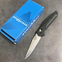 nuevos cuchillos de mesa al por mayor-Cuchillo plegable tipo mariposa 943 de Benchmade-nueva Manija de FRN + Cuchillo plegable de AXIS caza de supervivencia caza BM 940 943 BM940 BM943 herramienta