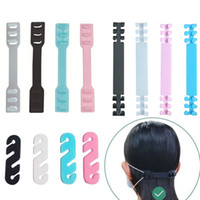 Adjustable Mask Hook Masks Ear Grips Extension Hook Three Gear Mask Hanging Buckle for Relieving Ear Pain 100Pcs lot