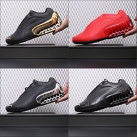 Wholesale race car bodies resale online - 2020 Car Scarpe Future Super GT Low Red Black Gold Silver Leather Mens Running Shoes Sports High Quality Size US