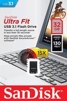 unidades flash al por mayor-Sandisk 32GB Ultra Fit USB 3.1 Flash Drive - SDCZ430-032G compatible con USB 3.0 (compatible con USB 2.0)