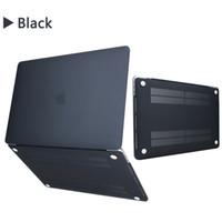 macbook крышки 13 дюймов оптовых-Чехол для MacBook Air Pro 11 12 13-дюймовый футляр Жесткий матовый Передняя задняя крышка для ноутбука Корпус Чехол A1369 A1466 A1708 A1278 A1465