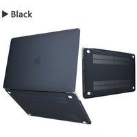 hard case macbook 15 toptan satış-MacBook hava pro 11 12 13 inç kılıf Sert mat Ön Arka Tam Vücut laptop Case Kabuk Kapak A1369 A1466 A1708 A1278 A1465