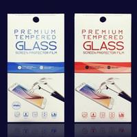 caja de venta al por menor de gafas de pantalla templada al por mayor-Air Empty Retail Package Cajas Embalaje para Premium Tempered Glass Screen Protector para iPhone XR XS Max X 8 Plus Samsung