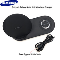 Wholesale dual gear for sale - Group buy Original Samsung Galaxy Note Wireless Charger IN Dual Charging Base For S8 S9 S10 Plus Galaxy Watch Gear S2 S3 S4 Sports