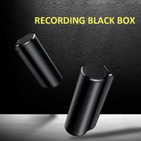 reprodução do gravador de voz venda por atacado-Gravador de Voz Q70 8GB Áudio Mini Invisível Voz Audio Recorder Magnetic Recording Professional Digital HD Dictaphone Denoise