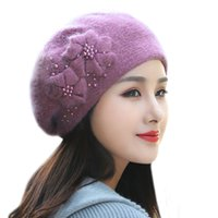 bf84aa6794818 Wholesale elegant winter hats for women for sale - 50PCS Winter New Hat for  Women Double