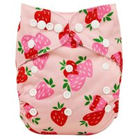 Wholesale magic baby diapers resale online - Baby cloth diaper reusable diaper character neutral baby care pants waterproof pocket cloth diaper baby gift KKS