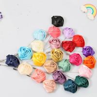 Wholesale tailor accessories resale online - Tailor Rose Flower Brooch Lapel Pin Fashion Designer Handmade Men Solid Rose Flower Brooch Lapel Pin for Men Suit Accessories