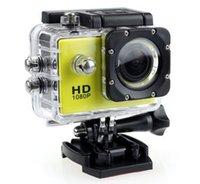 ingrosso migliore dv camera-La migliore fotocamera più venduta SJ4000 A9 Full HD 1080P fotocamera 12MP 30M impermeabile Sport Action Camera DV CAR DVR