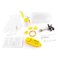 Professional Hydraulic Disc Brake Bleed Kit Hydraulic Mineral Disc Brake Bleed Kit Tool for All Dot Brakes
