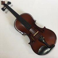 antikes massivholz großhandel-Hochwertige massivholz violine 4/4 anfänger handgefertigte antike matte violino Professionelle Instrumente 3/4 violine fall bogen kolophonium kostenloser versand