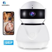 cctv gözetleme monitörü toptan satış-Wifi Kamera 1080 P Güvenlik Kamera Akıllı Gece Görüş 2MP CCTV Kamera Bebek Monitörü Ev Güvenlik Gözetim Kameraları Sistemi Kablosuz