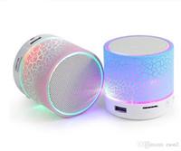 quai de dessin animé achat en gros de-Haut-parleur Bluetooth stéréo A9 Mini haut-parleurs LED bluetooth lecteur portable blue tooth Caisson de basses mp3 lecteur Subwoofer usb musique Party Président