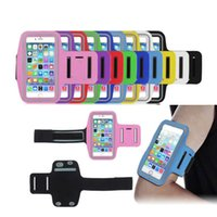 Wholesale neoprene running belt for sale - Group buy Phone Bag cover Waterproof Sport Arm Band Belt Running Gym Case For Samsung Galaxy Note S7 S8 S9 S9plus For iPhone