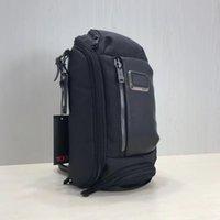 Wholesale men s bag shoulder black for sale - Group buy 2019 TUMI Alpha Bravo Men s Ballistic Nylon Shoulder Bag Waist Bag Chest Bag New Waist Bags