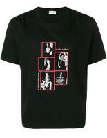 camiseta de lujo para hombre al por mayor-De lujo para mujer camiseta personaje pequeño logotipo impreso de manga corta diseñador Tops para hombre camisas de verano diseñador mujeres camiseta