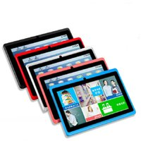 Wholesale Hot Sell inch Tablet PC MB RAM GB ROM Allwinner A33 Quad Core Android Pad Capacitive Q88 Tablets WiFi Camera