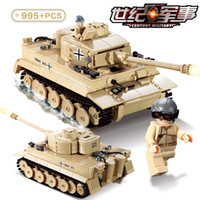 Wholesale kazi brick toys for sale - Group buy Kazi KY82011 WW2 Century Military D Germany King Tiger Tank Model Building Blocks Bricks Military Toy For Boy