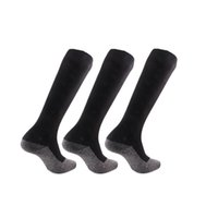 schwarze silberne strümpfe großhandel-Brothock Schwarz 35 Grad Silber Filament Warme Socken Außerhalb von Sportarten Skifahren Skaten Kompressionsstrümpfe Bergsteigen Skisocken