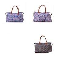 bolsos de colores populares al por mayor-Lilly Pulitzer Bags Travel Bolso Totes Floral Plaid Impreso Colores Mezcla Moda Alta Capacidad Popular 36 hz F1