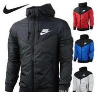 мужская одежда оптовых-Мода новый Мужчины Женщины куртка Весна Осень осень повседневная спортивная одежда Одежда ветровка с капюшоном молния пальто ugbgjkm QQQ