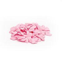ingrosso petali di fiori artificiali bianchi-fiore 100pcs petali decorazioni di nozze in raso a forma di cuore tessuto artificiale falso petali di fiori fai da te forniture di nozze rosso rosa bianco