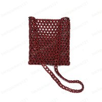 Wholesale vintage beaded clutch evening bag for sale - Group buy New Style vintage style ladies evening bags beaded shoulder purse hollow big space clutch purse