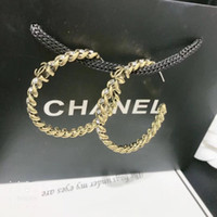 Wholesale stud backs for sale - Group buy Fashion Designer Letters Earrings Gold Silver Plated Ear Studs Double Earddrop For Women Girl Party Jewelry