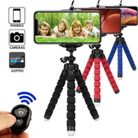 Wholesale tripod for smartphone for sale - Group buy Tripod for phone tripod monopod selfie remote stick for smartphone iphone tripod for mobile phone holder bluetooth tripods