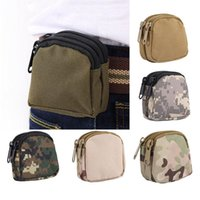 Wholesale waterproof mini waist bag for sale - Group buy Nylon Fashion Waterproof Mini Sports Pockets Camouflage Tactical Waist Bag Outdoor Camping Military Tactical Waist Pockets XD23340
