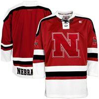 Wholesale Custom Men s Nebraska Cornhuskers Hockey Jersey Embroidery Stitched Any Name Any Number Hight Quality Size S XL