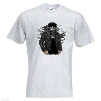 небесные майки xl размер оптовых-Sky Fighter мужская печатных футболка шлем Луна облака куртка пилот с коротким рукавом плюс размер футболки цвет Джерси печати футболка