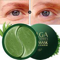 blanqueamento de máscara ocular venda por atacado-30pairs ouro Collagen Eye Mask escuro Dircles Retirar rugas Bag Eye Mask Máscaras Whitening Hidratante sono para Olhos Cuidados de Rosto