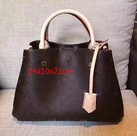 klasik tasarım çantaları toptan satış-Çanta tasarımcısı Yüksek Kaliteli Lüks Çanta Cüzdan Ünlü Markalar Çanta Kadın Çanta Crossbody Çanta Moda Bağbozumu Deri Omuz Çantaları