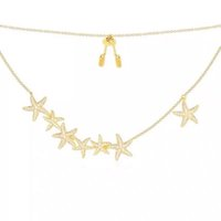 Wholesale love shaped necklace resale online - New high quality famous brand fashion necklace starfish shape pendant necklace suitable for fashion women and couples gifts
